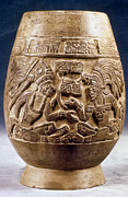 Native American Art - Guatemala: Mayan Vase by Granger