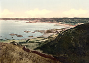 """english Channel Islands""  Posters - Guernsey - Rocquaine Bay - Channel Islands - England Poster by International Images"