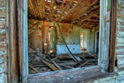 Old House Photo Originals - Guess Nobodys Home by Stephen Campbell