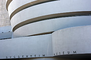 Museum Mile Prints - Guggenheim Museum Print by David Bearden