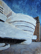 Solomon Paintings - Guggenheim Museum by Romina Diaz-Brarda