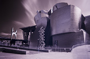 Bilbao Prints - Guggenheim with ghosts Print by Fernando Alvarez