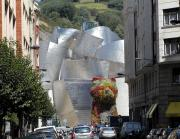 Guggenheim Photos - Guggenhiem 1 Bilboa Spain by Paul Basile