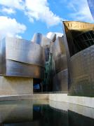 Guggenheim Photos - Guggenhiem 2 Bilboa Spain by Paul Basile