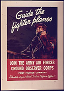 Observer Prints - Guide the fighter Planes Print by Purcell Pictures
