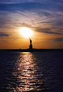 Lady Liberty Art - Guiding Light by Joann Vitali