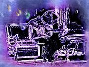 Guitar Player Digital Art - Guitar Blues by Susan Kinney