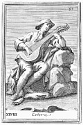 Westerhout Framed Prints - Guitar: Cittern, 1723 Framed Print by Granger
