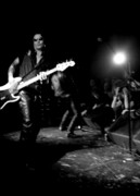 Ramones Photos - Guitar Wolf by Christopher  Chouinard