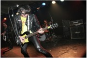 Ramones Photos - Guitar Wolf Soloing by Christopher  Chouinard