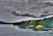 Vancouver Island Originals - Gulf Island Sky by Lawrence Christopher