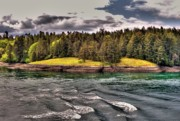 Saltspring Photo Originals - Gulf Islands 4 by Lawrence Christopher