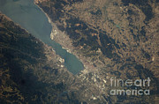 Aerial Photography Framed Prints - Gulf Of Izmit, Turkey Framed Print by NASA/Science Source