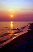 Florida Panhandle Photo Posters - Gulf of Mexico Sunset Poster by Thomas R Fletcher