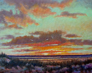 Charles Yates - Gulf Shore Sunset