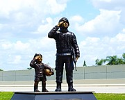 Vet Originals - Gulf War Memorial by Florene Welebny
