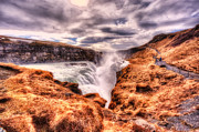 D700 Originals - Gulfoss Waterfall Iceland 2nd Tier by Jack Torcello