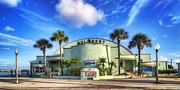 Ballroom Metal Prints - Gulfport Casino Metal Print by Tammy Wetzel