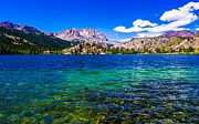 Sierra Nevada Photos - Gull Lake near June Lakes California by Scott McGuire