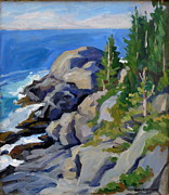 Thor Wickstrom - Gull Rock Monhegan