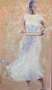 Gullah Paintings - Gullah Princess by Gertrude Palmer