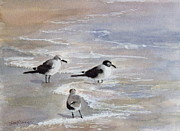 Suzanne Krueger - Gulls on the Beach