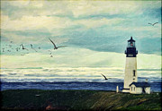 Seas Digital Art - Gulls Way by Lianne Schneider