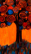 Monica Furlow Framed Prints - Gumball Tree 00013 Framed Print by Monica Furlow
