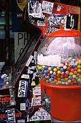 Art Ferrier Prints - Gumballs Print by Art Ferrier