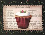 Gumdrop Cupcake Print by Catherine Holman