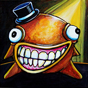 Fantasy Creatures Metal Prints - Gummy Stage Glob Metal Print by Leanne Wilkes