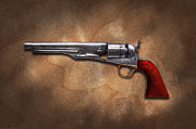 Gun - Model 1860 Colt Army Revolver Print by Mike Savad