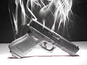 Gun Photos - Gun Smoke by Michael Ludlum