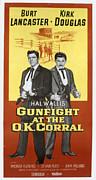 Gunfight At The O.k. Corral, Burt Print by Everett