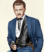 1950s Portraits Art - Gunfight At The O.k. Corral, Kirk by Everett