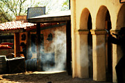Movie Stars Photos - Gunfights in Old Tuscon Arizona by Susanne Van Hulst