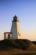Gurnet Light Photos - Gurnet Point Lighthouse by Roupen  Baker