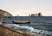 Sea View Art - Gursuff - Crimea - Ukraine by Bode Stevenson
