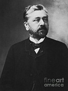 Gustave Art - Gustave Eiffel, French Architect by Photo Researchers