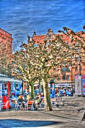 Malmo Digital Art - Gustavs Square by Arthur Wardle