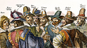 Criminal Framed Prints - Guy Fawkes (1570-1606) Framed Print by Granger