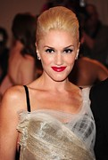 The Metropolitan Museum Of Art Costume Institute Posters - Gwen Stefani At Arrivals For Part 2 - Poster by Everett