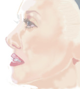 Gwen Stefani Art - Gwen Stefani by Colin Hockless