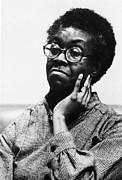 1980s Framed Prints - Gwendolyn Brooks 1917-2000, American Framed Print by Everett