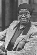 Black Arts Framed Prints - Gwendolyn Brooks (1917-2000) Framed Print by Granger
