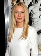 Hair Parted Posters - Gwyneth Paltrow At Arrivals For Country Poster by Everett