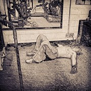Sports Art - #gym #sport #relax #1stangel by Abbie Shores