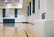 Basketball Court Prints - Gymnasium Print by Andersen Ross