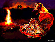 Roxana Paul - Gypsy fire dance