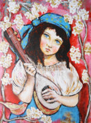 Gypsy Mixed Media - Gypsy Girl by Patti  Ballard